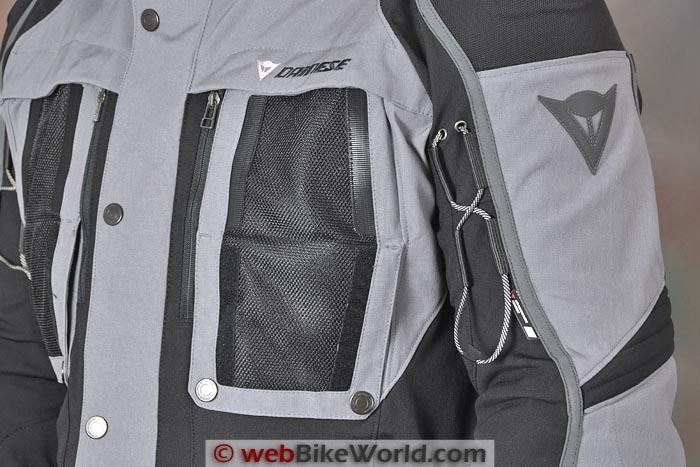 Dainese Teren Jacket Front Mesh Vent