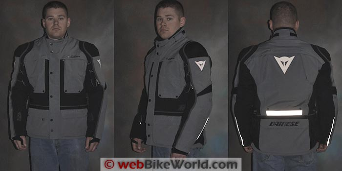 Dainese Teren Jacket Reflectivity