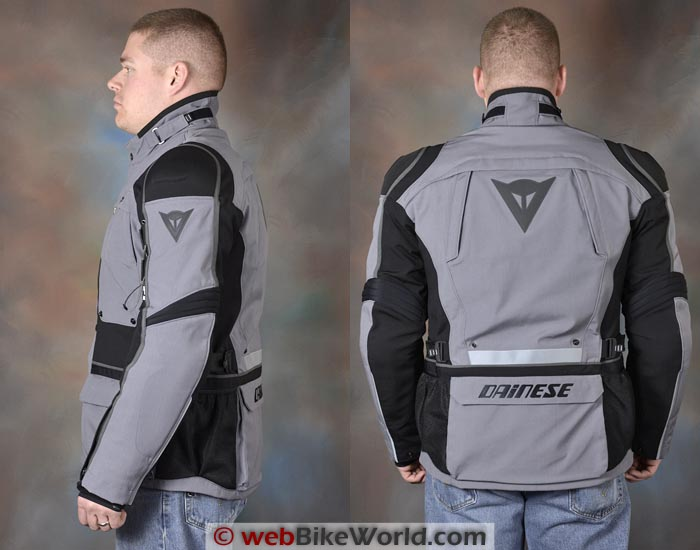Dainese Teren Jacket Side Rear Views