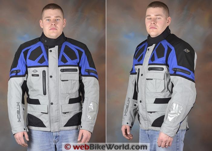 M-Tech Adventure Jacket Front Side Views
