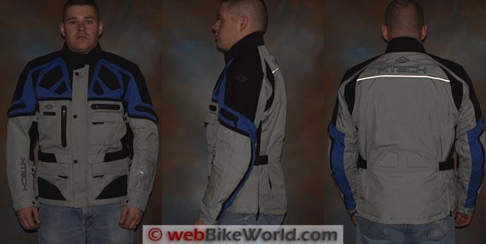 M-Tech Adventure Jacket Reflectivity