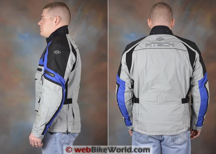 M-Tech Adventure Jacket Side Rear Views