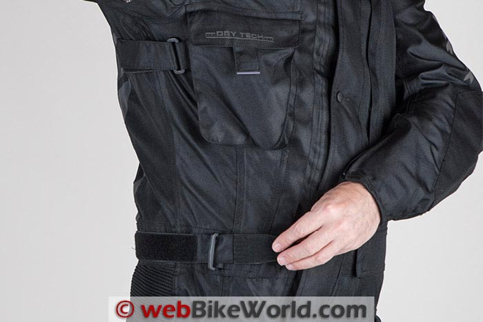 Waist Adjuster and Chest Pocket