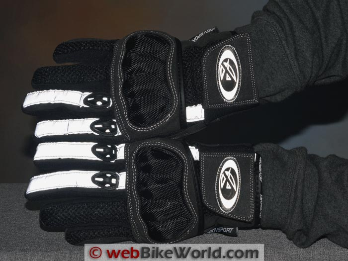 AGV Sport Mercury Gloves Reflectivity