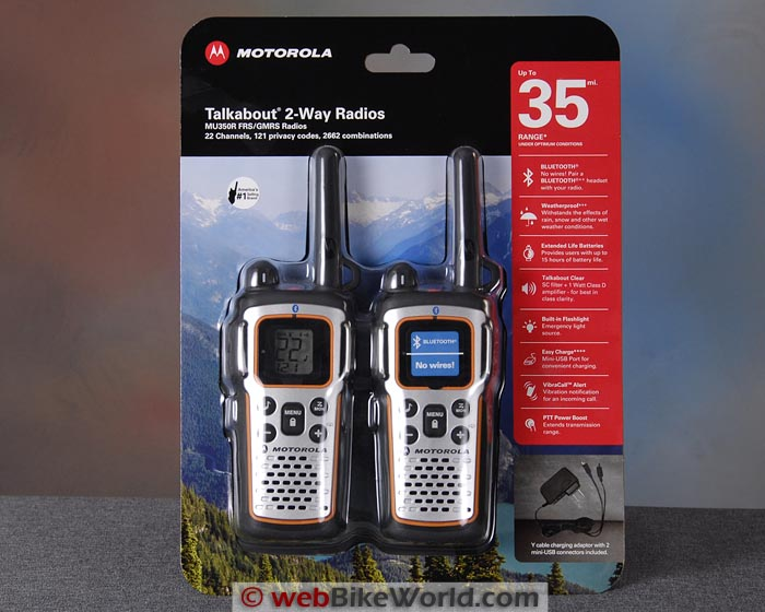 Motorola MU350R Radio Kit