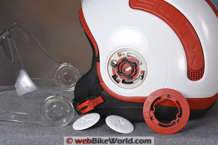 Nexx SWTIX SX.10 Helmet Parts