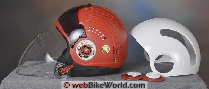 Nexx SWITX SX.10 Helmet Shell