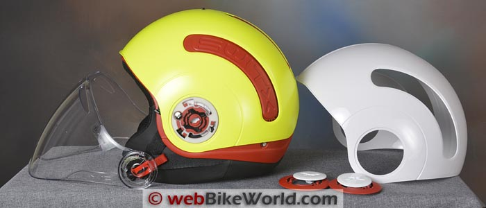 Nexx SWITX SX.10 Helmet With Covers