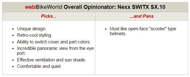 Nexx SWITX SX10 Opinionator