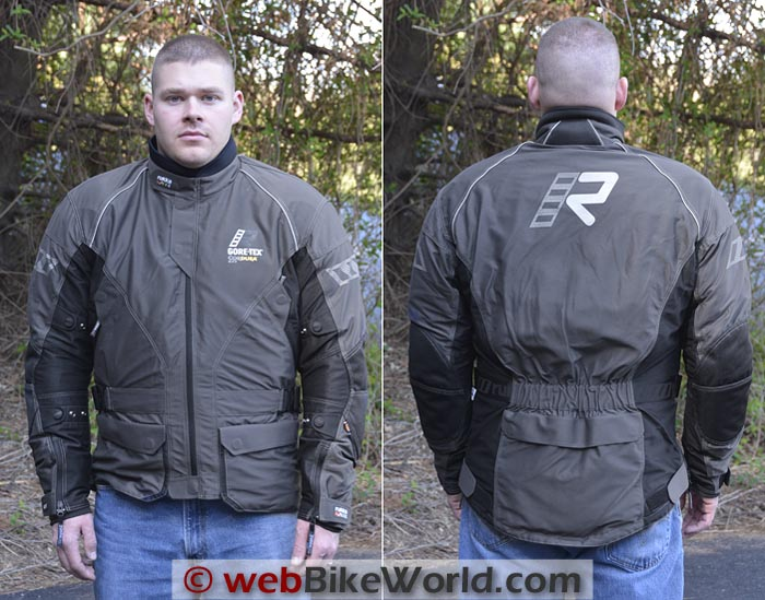 Rukka AirMan Jacket Side Rear Views