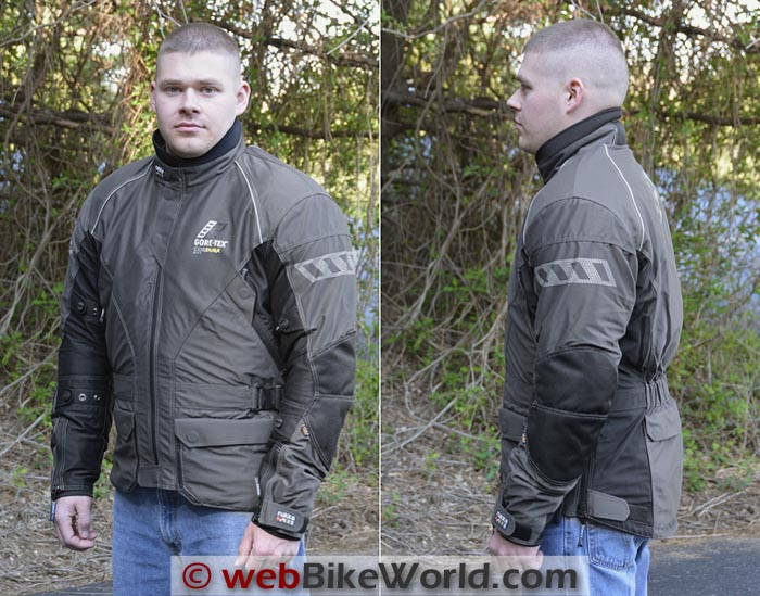 Rukka AirMan Jacket Front Side Views