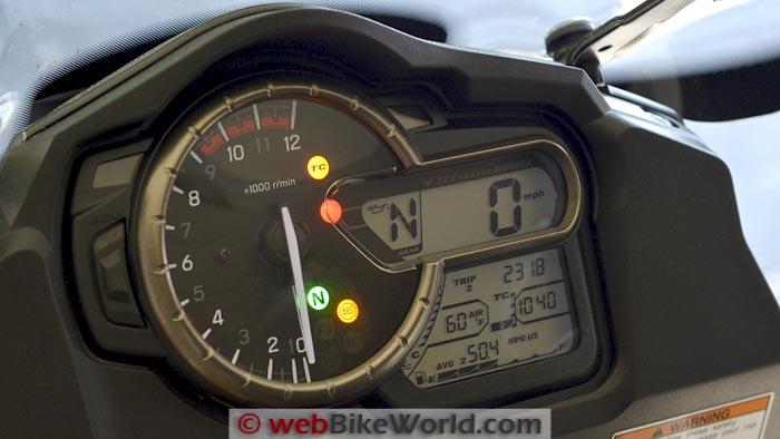 Suzuki V-Strom 1000 ABS Instruments