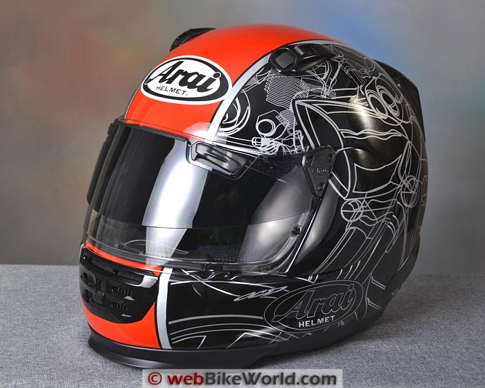 Arai Defiant With Pro Shade