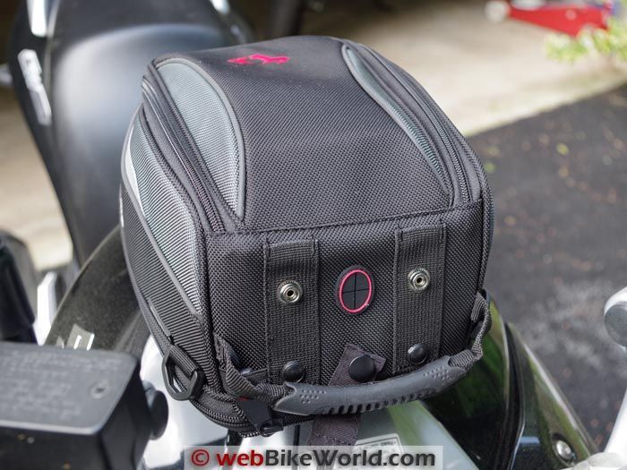 SW-Motech Bags-Connection EVO Daypack Tank Bag Front View