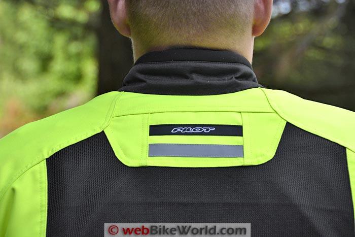 Pilot Direct Air Jacket Rear Collar