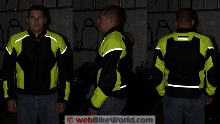 Pilot Direct Air Jacket Reflectivity
