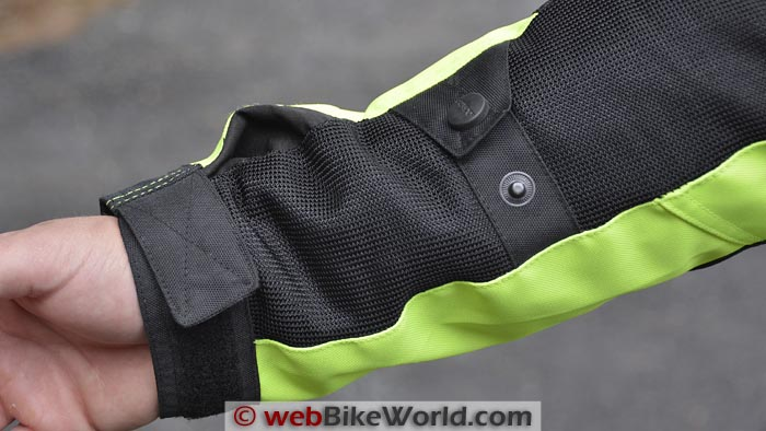 Pilot Direct Air Jacket Sleeve Cuff