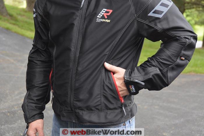 Rukka AiRider Jacket Front Pocket