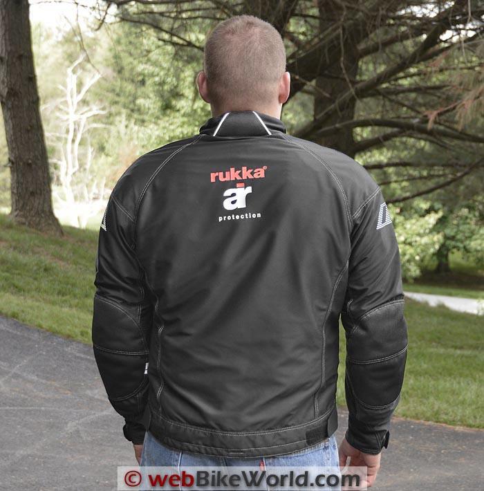 Rukka AiRider Jacket Rear View