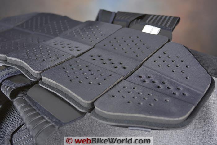 Dainese Manis Back Protector Cushioning