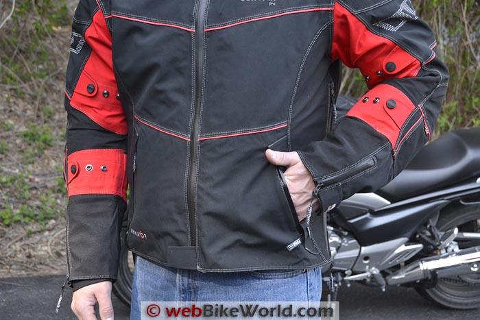 Rukka Armaxion Jacket Pockets