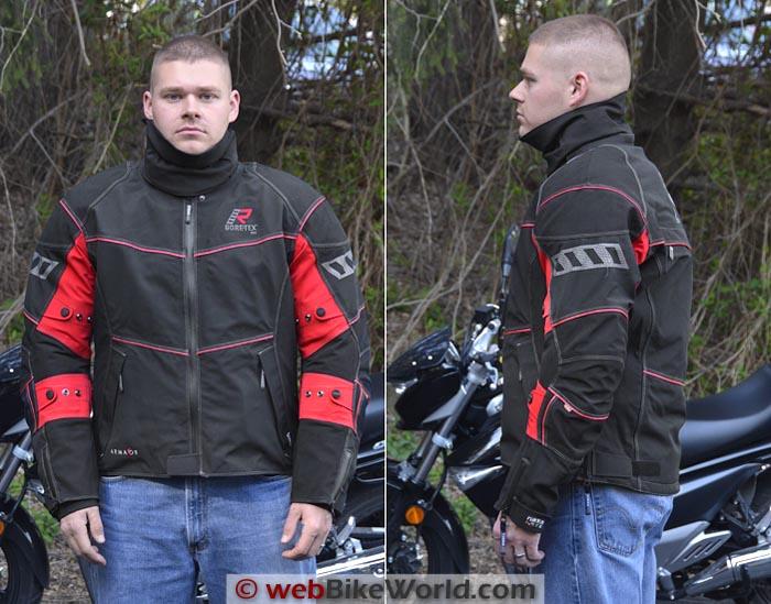Rukka Armaxion Jacket Front Side Views