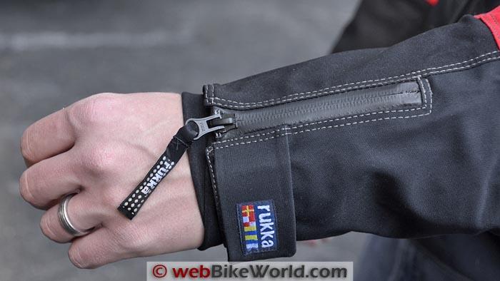 Rukka Armaxion Jacket Sleeve Cuff