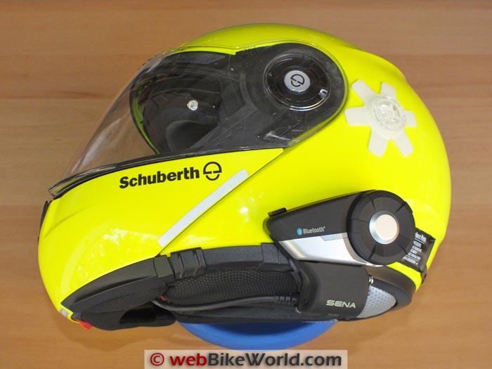 Sena 20S Fits the SCHUBERTH C3 Helmet