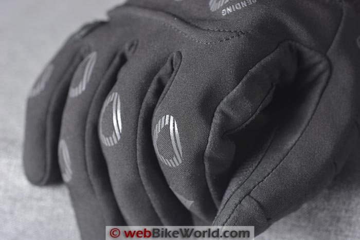 Dainese Veleta Gloves Finger Knuckle Protectors