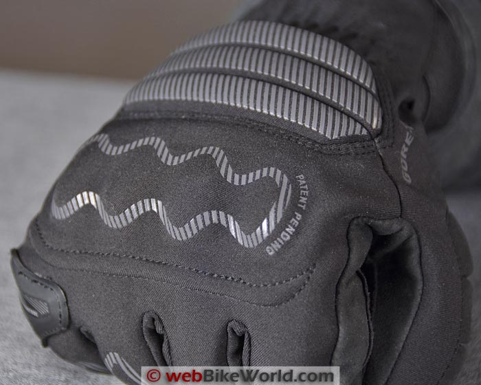 Dainese Veleta Gloves Main Knuckle Protector