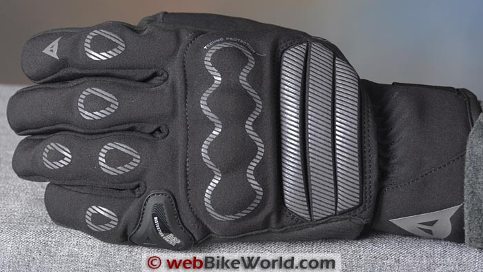 Dainese Veleta Gloves Top View