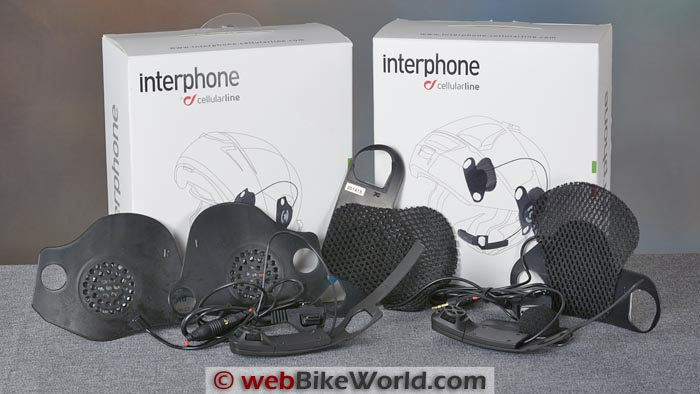 Interphone Pro Sound Kit for Shoei and Schuberth