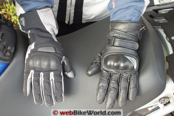 Racer Queens Gloves vs. Rev'it Ladies Tempest H20 Gloves