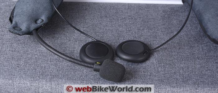 SCHUBERTH SRC Intercom Speakers and Microphone