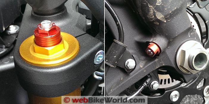 Suzuki V-Strom 1000 ABS Suspension Adjustment