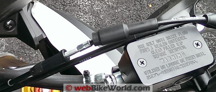 Suzuki V-Strom 1000 ABS Throttle Cable Adjuster