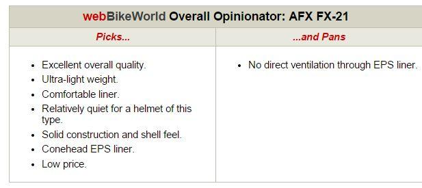 AFX FX-21 Opinionator