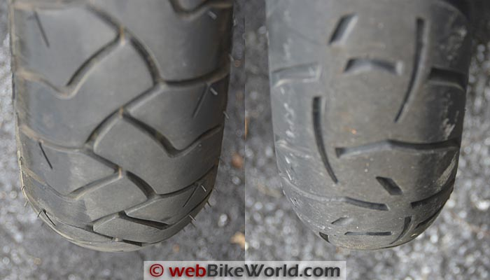 Bridgestone Battle Wing vs. Metzeler Tourance Next Profile
