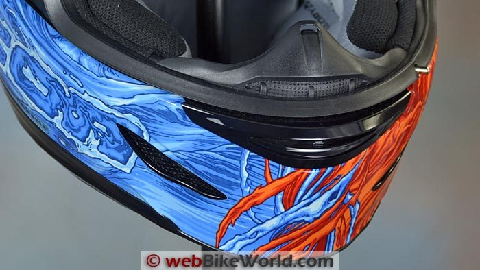 Icon Airmada Elemental Helmet Chin Vent