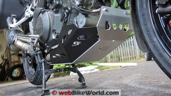 SW-Motech Skid Plate Clearance