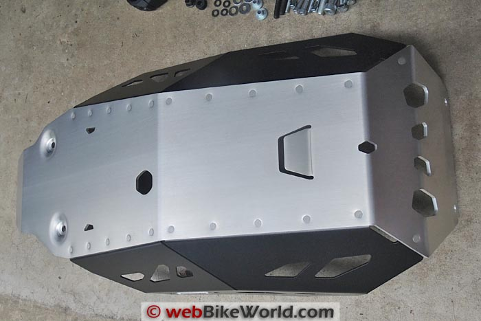 SW-Motech Skid Plate Engine Guard Bottom