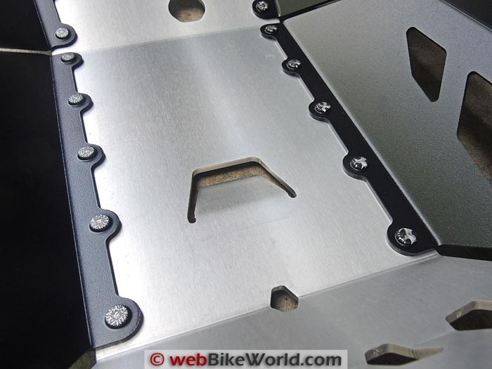 SW-Motech Skid Plate Engine Guard Inner Detail