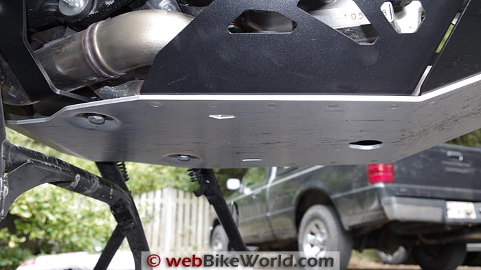 SW-Motech Skid Plate Engine Guard Underside