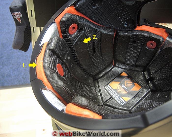 Bell Moto-9 Flex Liner