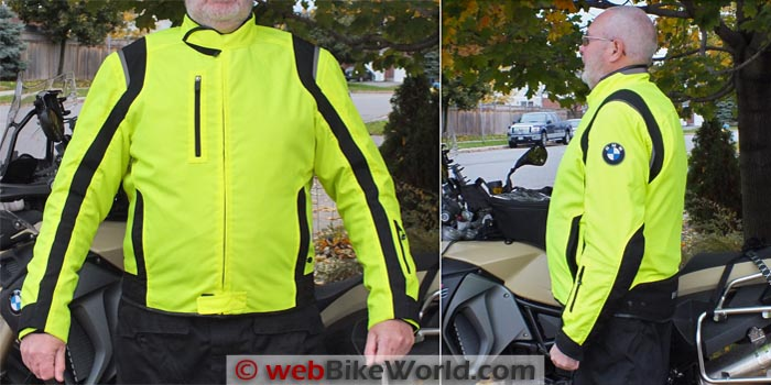 BMW Boulder Jacket Sleeve Length