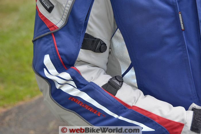 Fieldsheer Adventure Tour Jacket Sleeve