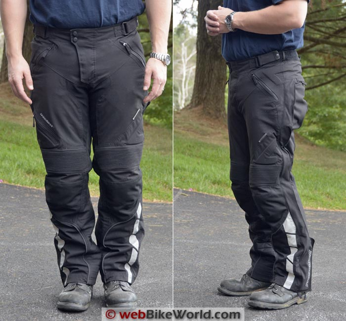 Fieldsheer Adventure Tour Pants Front Side Views