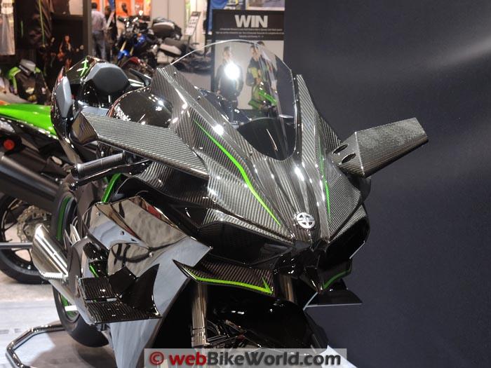 Kawasaki Ninja H2R Front