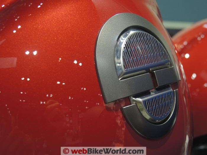 Schuberth M1 Rear Vent