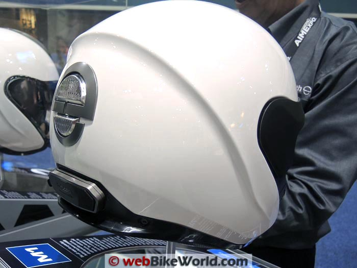 Schuberth M1 With Intercom Mounted